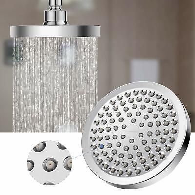 High Pressure Shower Head Anti-clogged Fixed Showerhead for Bathroom Chrome