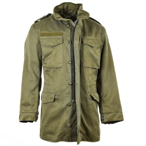Original Austrian BH army combat M65 jacket OD military olive drab  Parka