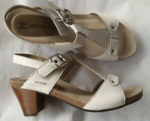 Chaussures sandales MEPHISTO neuves blanches 41