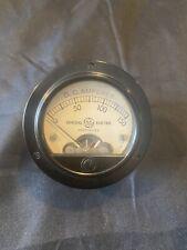 Vintage General Electric 0 150 Dc Milliamperes Meter Steampunk Industrial