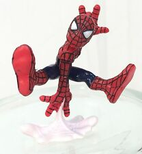 Marvel Super Hero Squad Spider-Man Jumping White Web Webbing