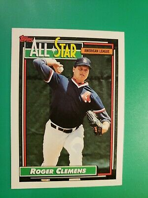 1992 Topps with Traded Boston Red Sox Team Set with 2 Roger Clemens /& 2 Wade Boggs 37 Cards