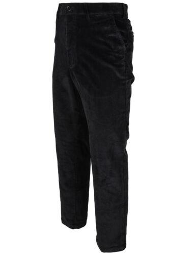 STRETCH grande da 46 a 64 Sounon Uomo Cord Pantaloni 3 colori
