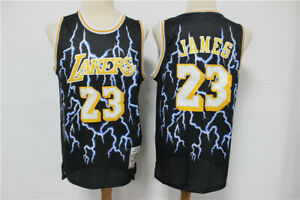 New Los Angeles Lakers #23 LeBron James Retro Basketball Jersey camouflage