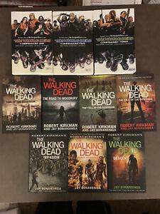 The Walking Dead Book Lot