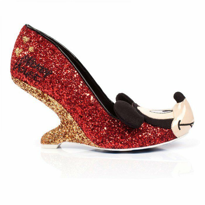 Irregular Choice mickey and freinds gold oh boy ROT and gold freinds sparkle e9dd75