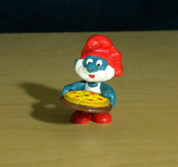 Smurfs Backpack Gives Free Robux Smurfs 20223 Pilot Papa Smurf Airplane Rare Vintage 1985 Figure Pvc Toy Schleich