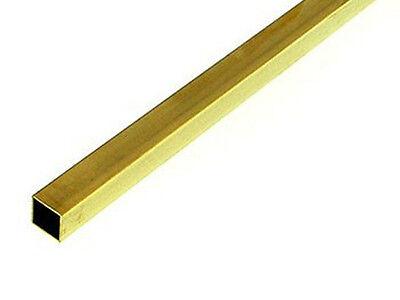 "K/&S Rectangular Brass Tubing 5//32/"" x 5//16/"" 4 pieces"