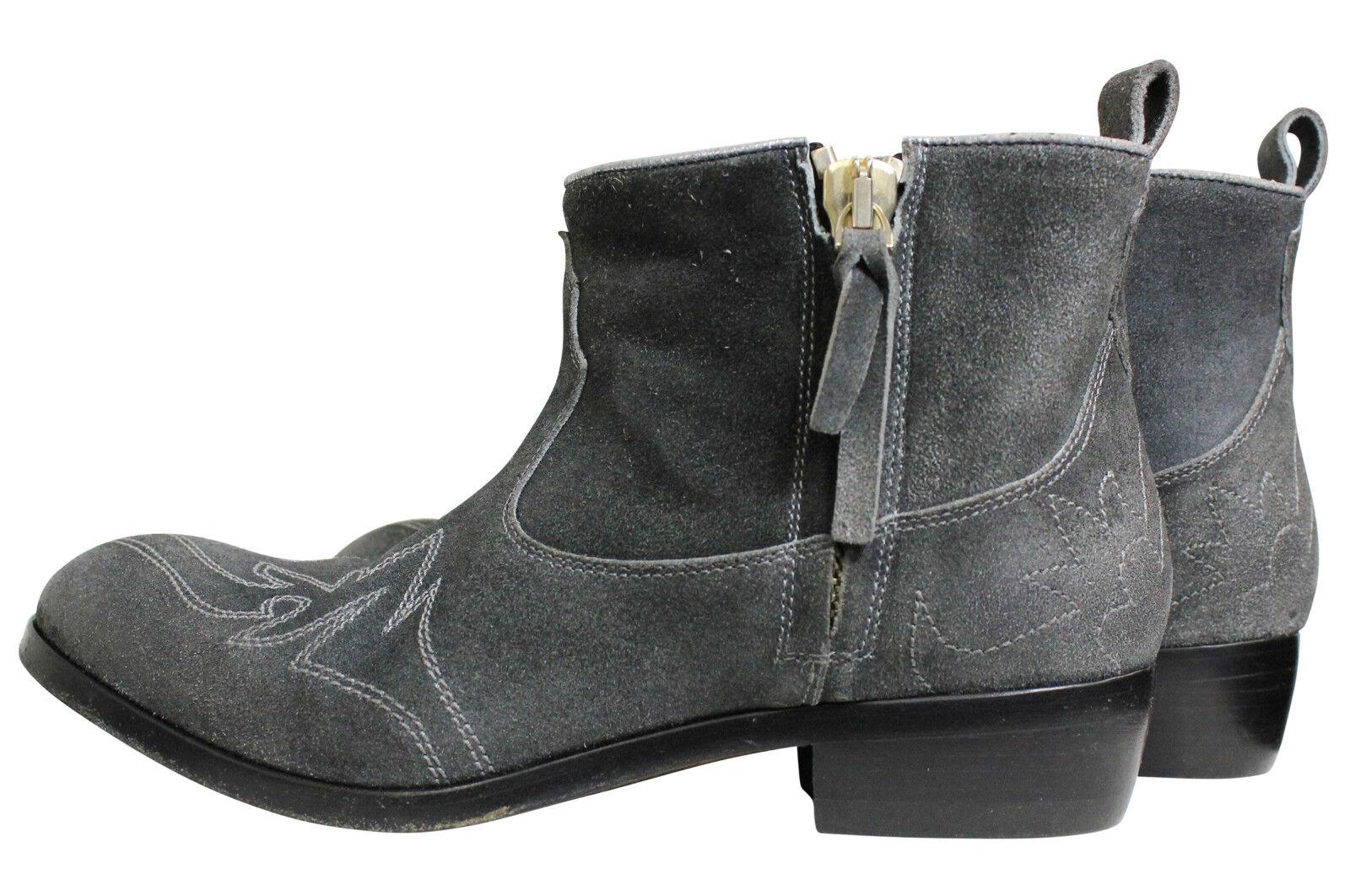 Golden Goose Women Boots Stiefeletten Zanja Grey Silver Grau GR. 36 NEU * 56936