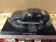 """DIE CAST """" ALFA ROMEO 166 """" 1/43 HACHETTE AUTO ITALIANE"""