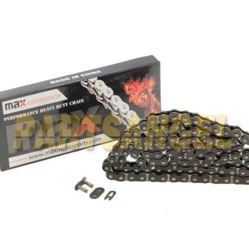 Black 520x76 Links Drive Chain For 1998-2012 Polaris Scrambler 500 2x4 /& 4x4