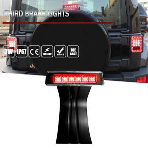 Xprite Smoke Lens 2007-2017 Jeep Wrangler /& Wrangler Unlimited JK LED Third Brake Lights