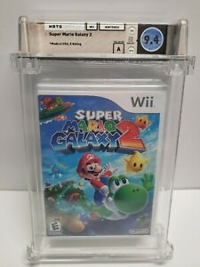 Wii - Super Mario Galaxy 2 - NEW Factory Sealed - WATA 9.4 A Graded Nintendo Wii