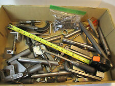 Huge 19 Pound Lot Of Machinist Hardware Fasteners Cutting Tools Doo Dads Vgc
