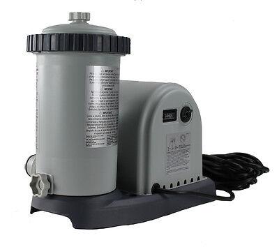 Intex 1500 GPH Easy Set Pool Pump Filter Cartridge with Timer & GFCI | 28635EG
