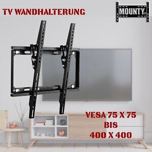 """TV Wandhalterung Wandhalter LCD LED Fernseher 32 - 65 Zoll Flach neigbar 55"""""""