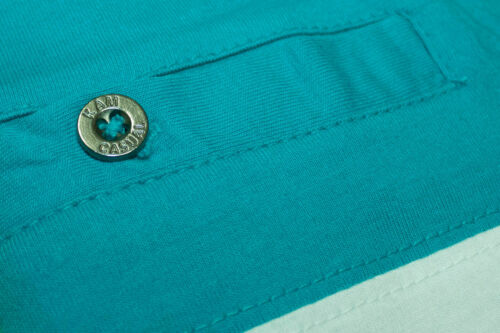 Mens Kam Big Tall Jersey Stripe Polo Short Sleeve Shirt  100/% cotton 2xl to 8XL