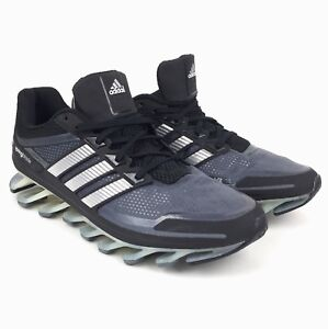 f8b84487776a New Adidas Springblade Men s Running Shoes Black Grey Many Sizes ...