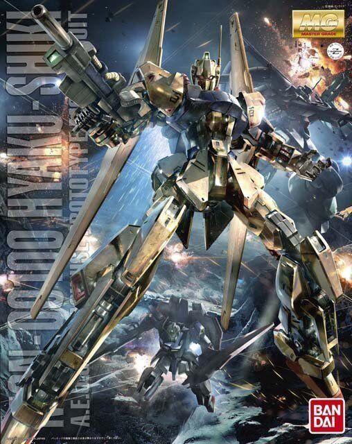Bandai 1  100 MG 186 MSN -00100 Hyaku Shiki Ver.2.0