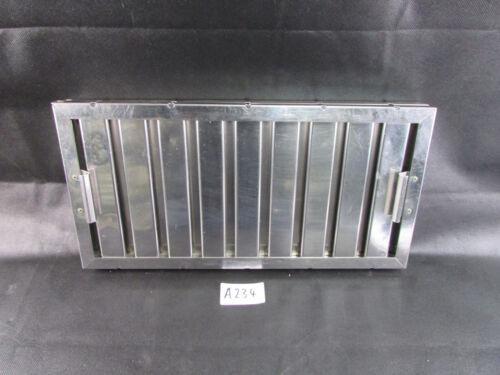 Edelstahl Flammschutzfilter BxHxT 500x250x45mm Haubenfilter Fettfilter  A234