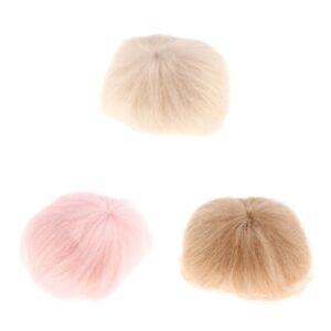 Lovely-Short-Straight-Wig-Bob-Haircut-Mohair-Clothes-Decor-for-1-8-BJD-Doll