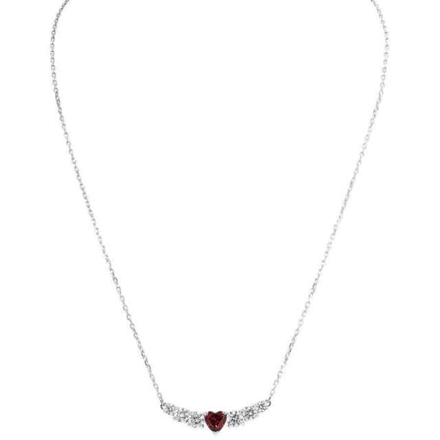 f78d69be6b0f7b Swarovski Love Necklace White Rhodium Plating 5408434 for sale ...