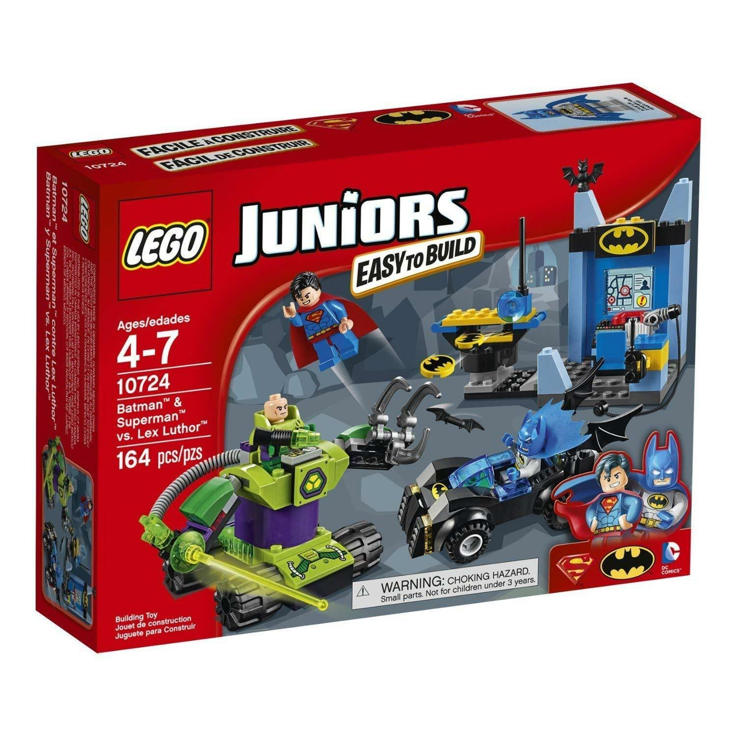 Lego Juniors DC Comics 10724 Batman & Superman vs. Lex Luthor NISB