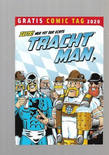 Plem Plem Verlag deutsch Comic Vom Gratis Comic Tag 2020 Tracht Man