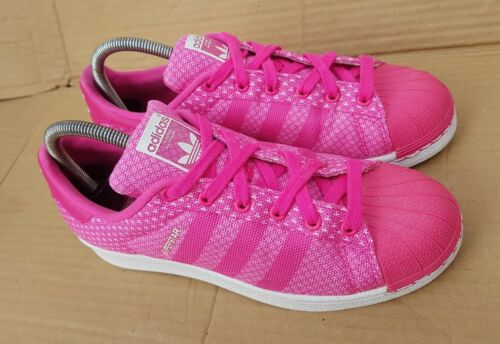 Taille Tissage Toe Adidas Rose Dans Superstar Uk Immaculate 5 Shell La 5 Baskets iuOXkZP