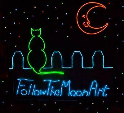 Follow The Moon Art