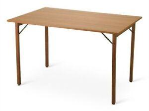 Tavolo pieghevole allungabile acacia madera conforama