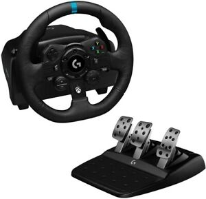 Logitech G923 Racing Wheel and Pedals for Xbox Series X One & PC (IL/RT6-1497...