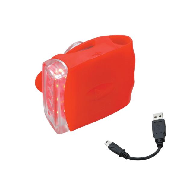 Topeak WhiteLite DX USB Rechargeable 4 LED Light