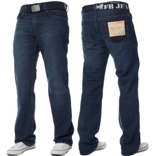 della Jeans uomo di regolari a Vendita gamba vita fbm15 Lavaggio pesante jeans da scuro Natale vita di a lavaggio dimensioni Pantaloni tutte le leggero dritta 8rrqUxI