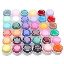 36 Farbe Nail Art UV Gel Set Farbgel Effekt Gele Nagel Design Für Fingernägel