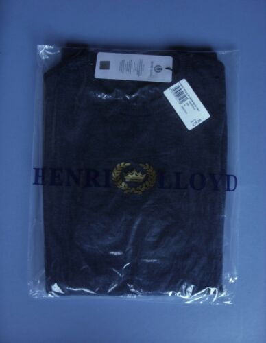 XXXL RRP £75 HENRI LLOYD LABROT LAMBSWOOL MENS SWEATER JUMPER BLUE UK SIZE S