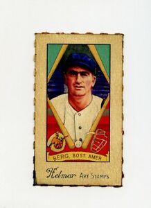 Details About Rare Helmar Baseball Card 33 Moe Berg Boston Red Sox Set Break