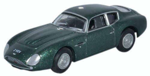 Oxford 76AMZ001 Aston Martin DB4GT Zagato grün met Maßstab 1:76 213895 NEU!°