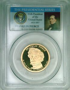 2010-S-PCGS-PR69DCAM-proof-F-Pierce-dollar-Limited-Ed