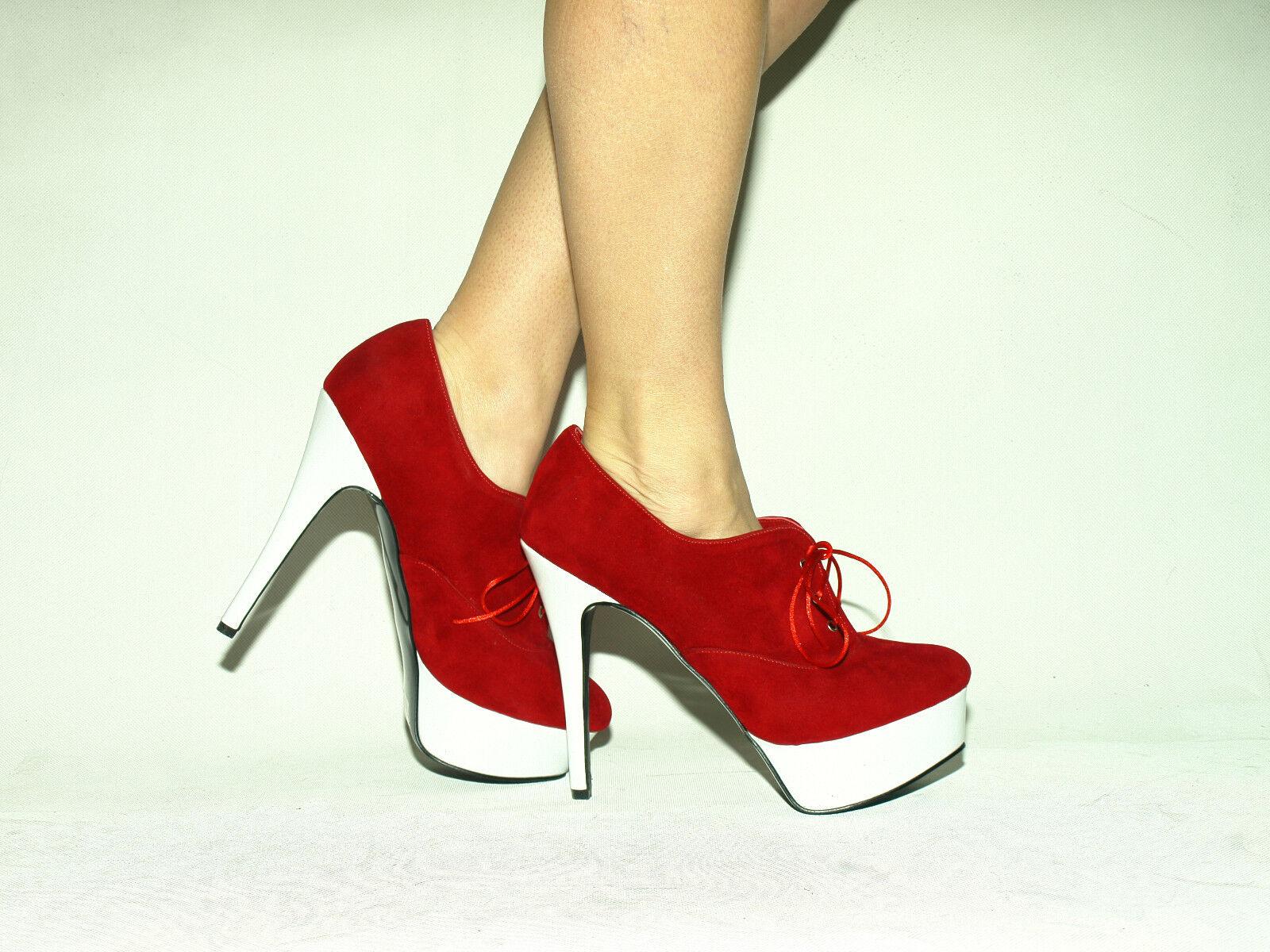 High heels 15cm kunstwildleder 37 38 43 39 40 41 42 43 38 44 45 46 47 Bolingier Poland eff079