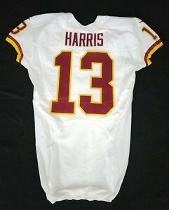 13-Maurice-Harris-of-Washington-Redskins-NFL-Locker-Room-Game-Issued-Jersey