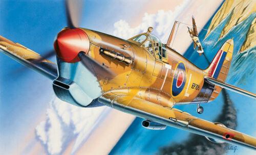 Spitfire Mk VB Fighter Plastic Kit 1:72 Model 0001 ITALERI