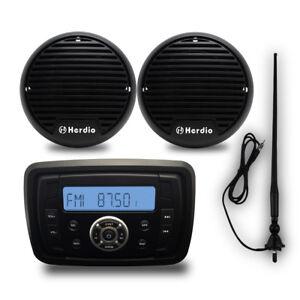 Herdio-Marine-Bluetooth-MP3-Player-Motorcycle-3-034-Boat-Speakers-Marine-antenna