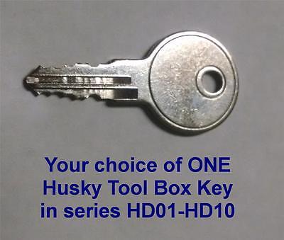 1 Better Built-Champion-Husky-Truck Toolbox Key H700D to H710D Tool Box Keys