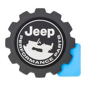 Jeep Performance Parts >> Details About 2018 Jeep Wrangler Jl Jeep Performance Parts Gear Shaped Emblem Badge Oem Mopar