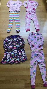 Gap-Hatley-Disney-Pajamas-Lot-4-Sets-Girls-Size-4
