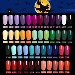 51-Couleur-Multiple-UV-Gel-Nail-Art-Semi-Permanent-Vernis-a-ongles-LILYCUTE-5ML