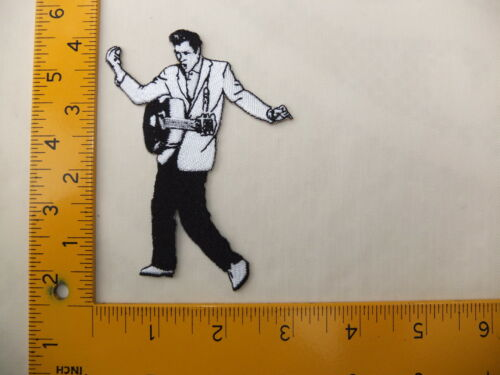 EMBROIDERED Elvis Presley Iron On Sew On Patch