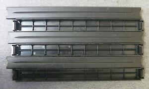 6-x-APC-1U-Black-Plastic-Rack-Server-Cabinet-Blanking-Plate-Panel-P-N-874-0018A