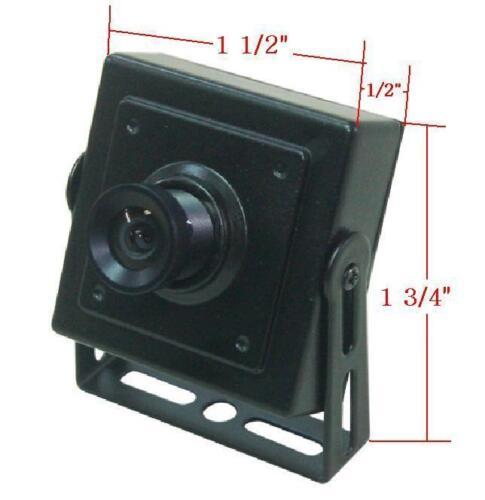 "45A Sunvision 480TVL 1//4"" CMOS  3.6mm Lens Snout Spy Camera no Night Vision"